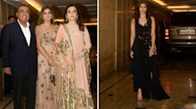 Alia Bhatt, Nita Ambani Arrive at Priyanka-Nick's Engagement Bash