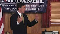 Does Thad Cochran's tea party-backed challenger have the upper hand?