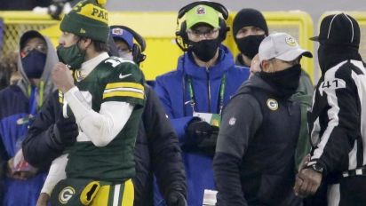 Rodgers on 4th down FG: 'Wasn't my decision'
