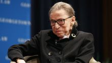 Conservative ads use Ginsburg's words to argue for replacing her quickly