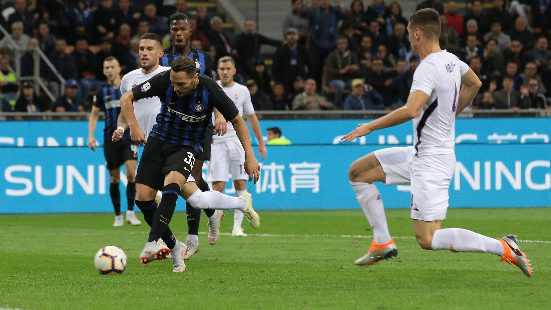 Inter 2 Fiorentina 1: D'Ambrosio maintains Nerazzurri revival