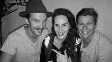 Downton Abbey Reunion Alert! Dan Stevens, Michelle Dockery and Allen Leech Hang Out in L.A.