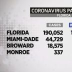 Florida Reports Record COVID-19 Numbers