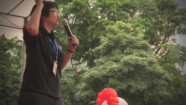 Thousands gather at May Day protest in Hong Lim Park