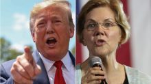Trump Is Suddenly Very Worried About Elizabeth Warren's Growing Crowds