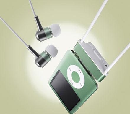 Radius' noise-canceling earbuds for your iPod nano