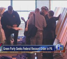 Green Party seeks federal recount order in Pennsylvania