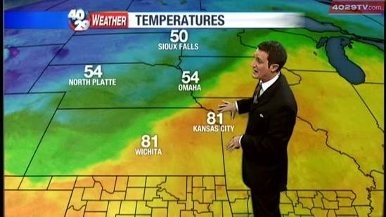 Drew's Weather webcast Oct 24, Wednesday