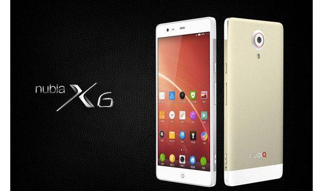 ZTE's giant Nubia X6 has 13MP cameras on the front and back