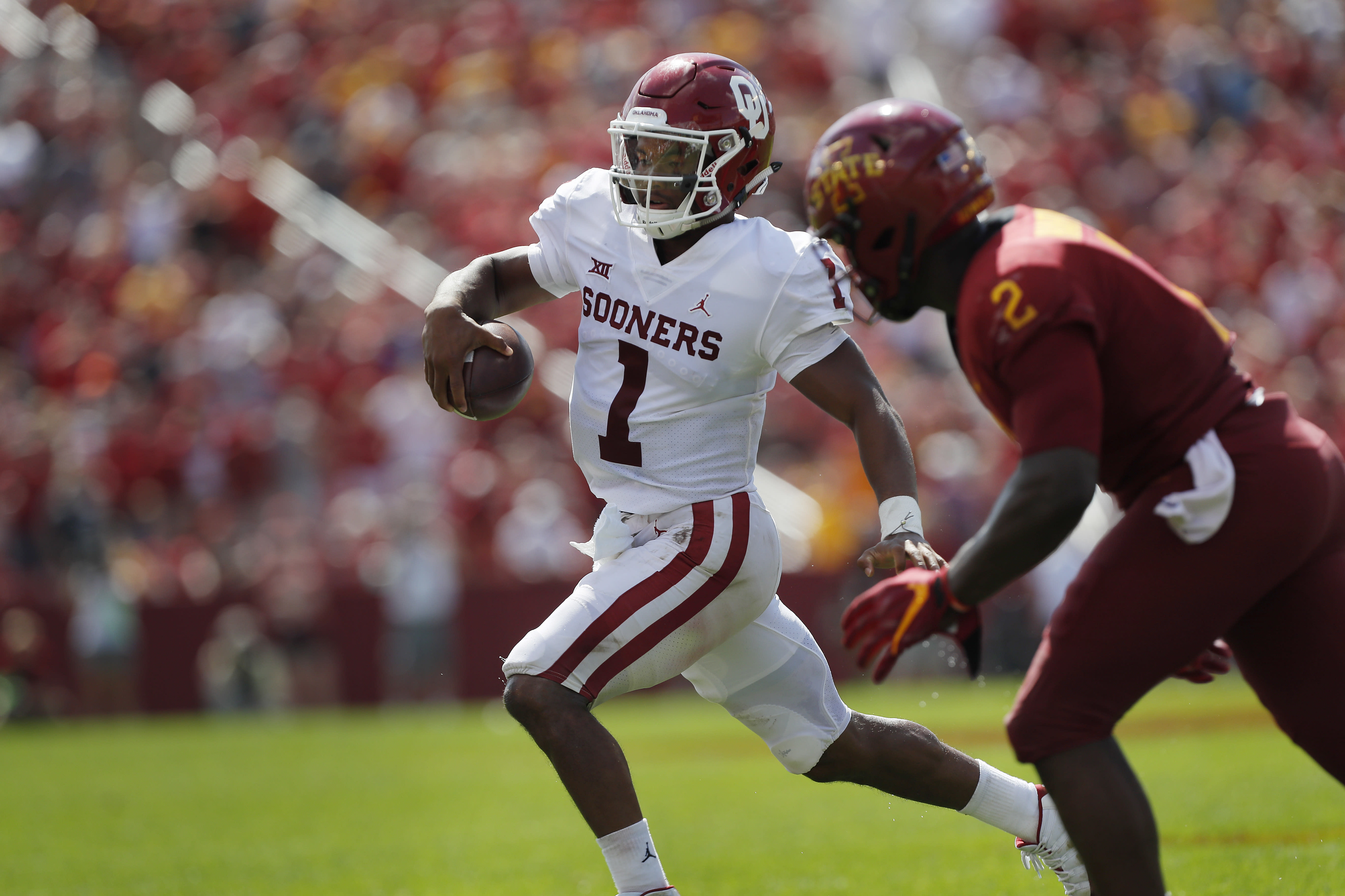 Kyler Murray's stats are eerily similar to Baker Mayfield