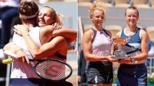 Tennis world erupts after epic 21-year French Open first