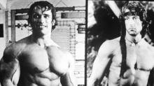 Así celebró Sylvester Stallone el cumpleaños de Arnie Schwarzenegger