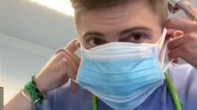 A doctor wore 6 face masks at once while testing his oxygen levels, and found he could still breathe perfectly