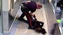 Constable slams handcuffed woman into ground in 'worst use of force' ever seen: senior officer