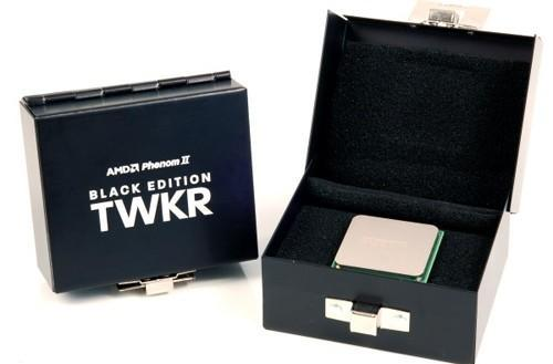 AMD Phenom II TWKR Black Edition CPU up for auction, sure to fetch a bundle