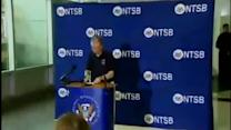 Raw video: NTSB briefing on UPS crash