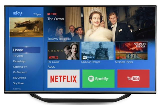 Netflix is now available on Sky Q boxes