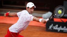 Djokovic gets obscenity warning in SF win at Italian Open