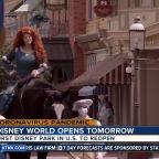 Disney World reopens tomorrow