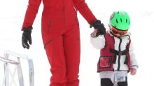 Ivanka Trump Skis in a Red Snowsuit That Might Cost More Than Your Monthly Bills