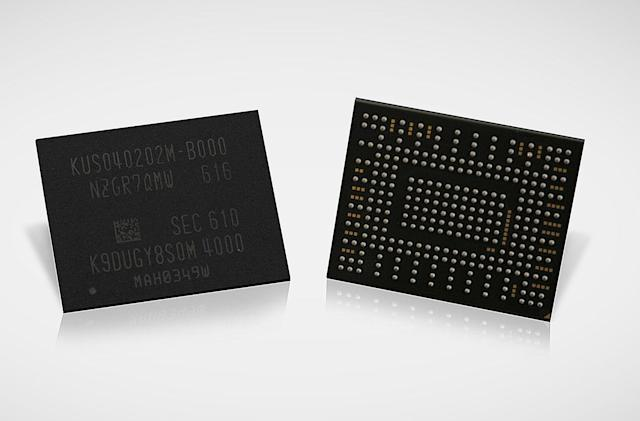 Samsung's new 512GB SSD is smaller than a postage stamp