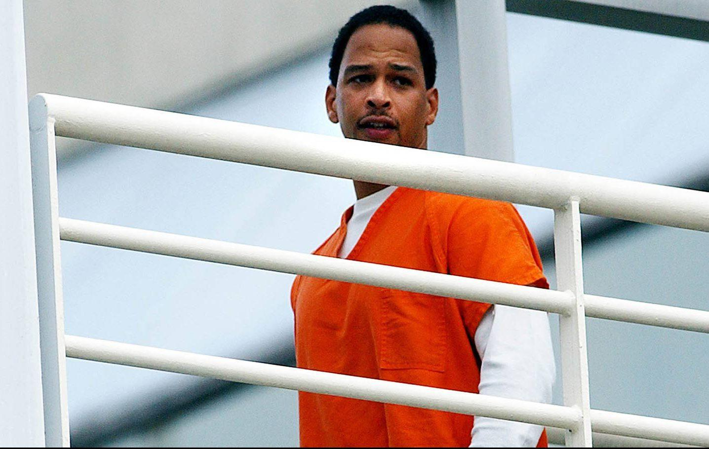 Former NFL player Rae Carruth has served 17 years in prison for conspiracy to murder his pregnant girlfriend Cherica Adams in 1999