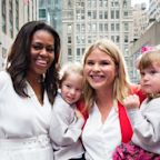 Jenna Bush Hager and Michelle Obama Talk About the Former First Lady's Infamous Hug With George W. Bush