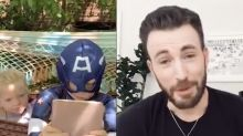 Chris Evans pledges to send Captain America shield to brave dog attack boy