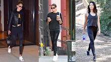 These 'super soft' celebrity favourite moto leggings are on sale for 30 per cent off