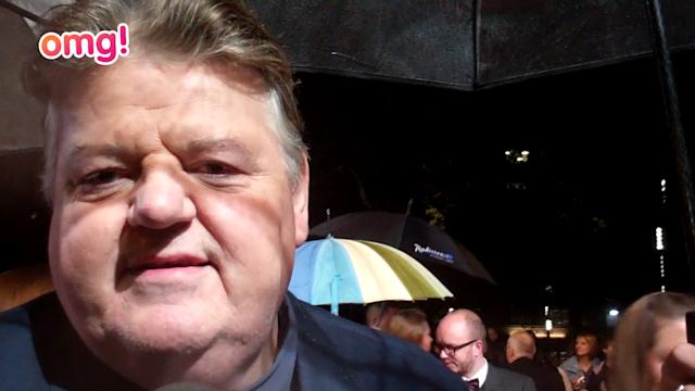 Robbie Coltrane opens up about fame and family