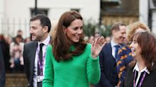Kate Middleton Took on the Neon Trend For Her Latest Appearance
