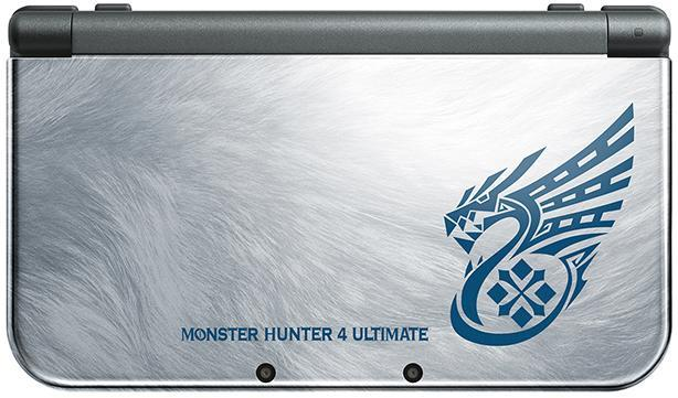 Monster Hunter 4 Ultimate, limited edition 3DS launches next month [Update]
