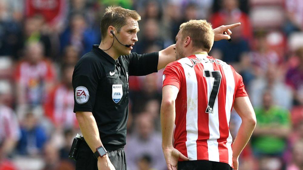 Larsson loses red card appeal following challenge on Man Utd midfielder Herrera