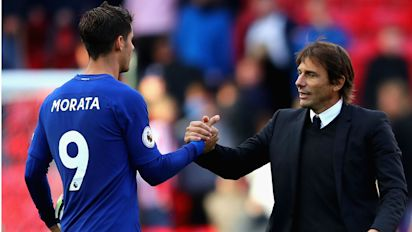 Conte: Morata must continue scintillating form