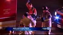 MPD officer fired after DUI crash