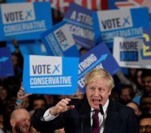 UK's Johnson on track to win modest majority: YouGov