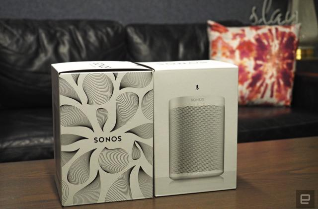 Engadget giveaway: Win a pair of Sonos One speakers courtesy of Plex!