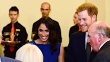 Prince Harry and Meghan Markle show support for mental health and veteran charities at concert