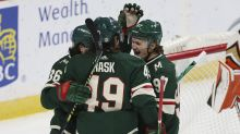 Kaprizov scores in OT as Wild beat Ducks 4-3
