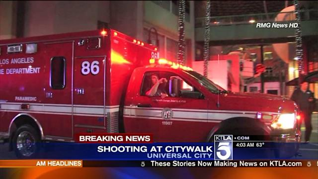 Officer-Involved Shooting Occurs at Universal CityWalk