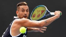 Kyrgios hoping to keep it positive