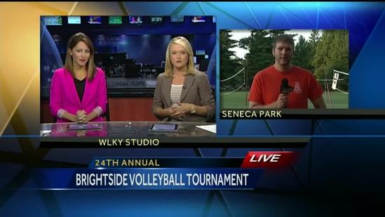 Brightside Volleyball Tournament raises funds to beautify city
