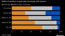 Estadounidenses descontentos en sus empleos, ¿por qué?