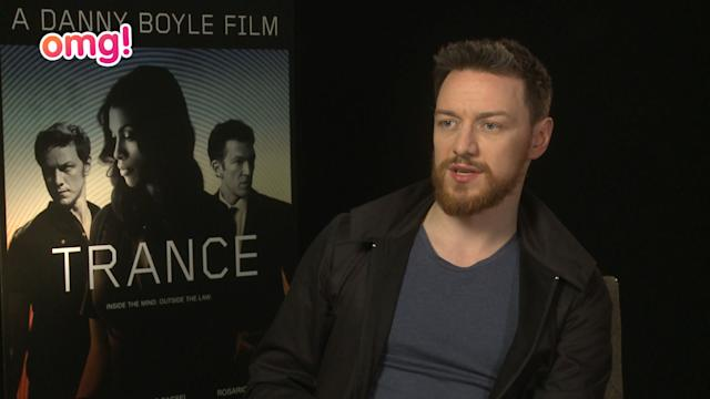 James McAvoy, Danny Boyle + Rosario Dawson on Trance
