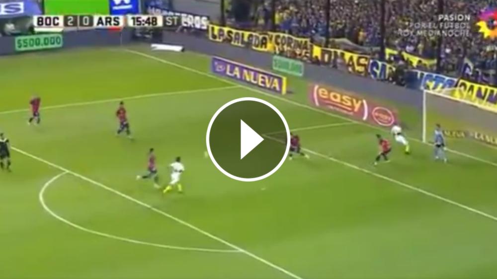 VIDEO: ¡Soñado! Maroni debuta en La Bombonera con un golazo