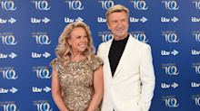 Jayne Torvill says it's 'strange' she can't hug Christopher Dean during 'Dancing on Ice' filming