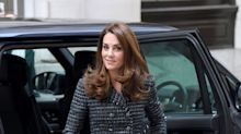 Kate Middleton and Prince Louis Went on a Valentine's Day Walk in the Park