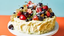 Summer frosted cake recipe