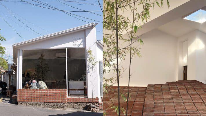 韓妞最新打卡熱點!首爾室內紅磚頭斜坡café 假裝自己在屋頂上喝咖啡