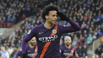 Watch: Man City cruise at Huddersfield Town